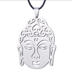 Jewelry - Stainless steel Buddha Head Necklace